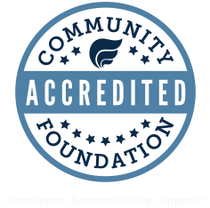 Accredited by the Community Foundation